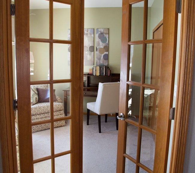 The Abby French Doors